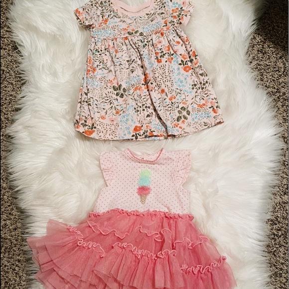 0-6 Month Girl Summer Floral Dresses